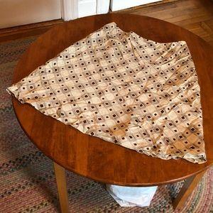 Vintage Ann Taylor Loft silk skirt